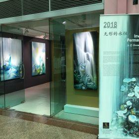 Ocean Wang solo exhibition 2018_Invisible Permanence